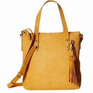 The Sak Sophie Suede Leather Crossbody Satchel
